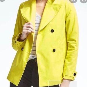 Banana Republic • Yellow Lightweight Trench Coat